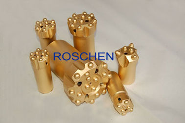 R32 Ballistic Button Drill Bit Rock Drilling Tool For Underground Mining Tunneling
