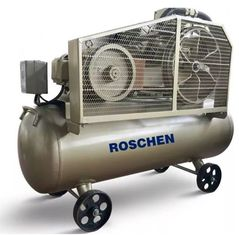 Portable reciprocating air compressor machine